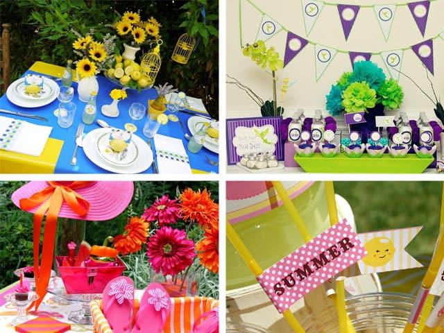 Hot Summer Party Ideas Celebrations Ltd