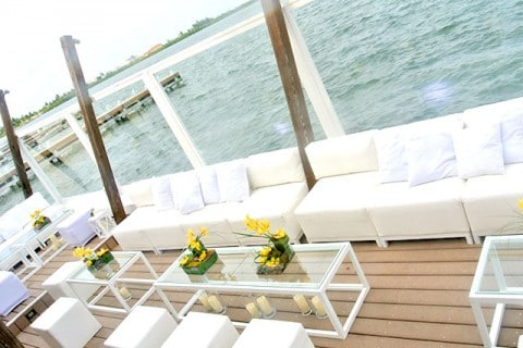 Ultra Chic Lounge Event Setting