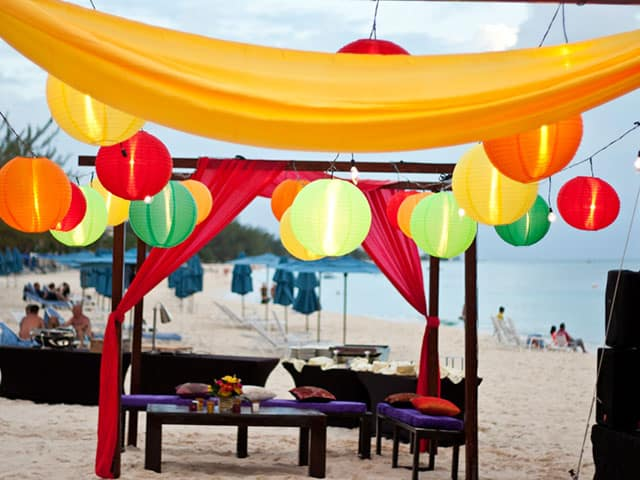Cayman event moroccan theme