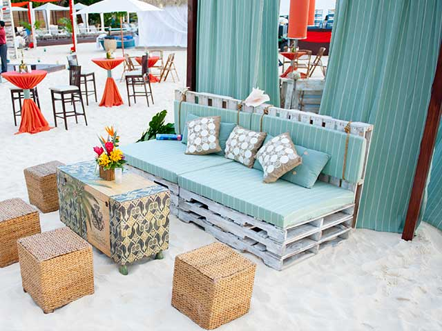Event Decor Tommy Bahama Inspired