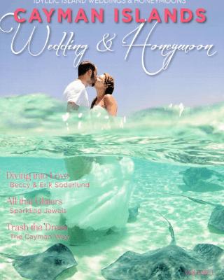 Cayman Islands Wedding & Honeymoons Magazine Cover 2015