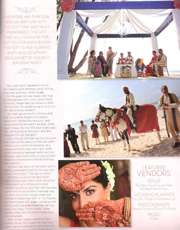 Luxurious Indian Caribbean Destination Wedding Cayman Islands
