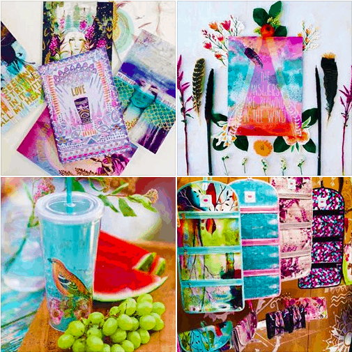 WE'RE SO IN LOVE! PAPAYA ART: CHIC ACCESSORIES AVAILABLE AT OUR RETAIL BOUTIQUE IN CAMANA BAY!