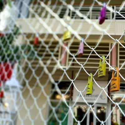 Love Lock Wall: CAYMAN COMPASS ARTICLE