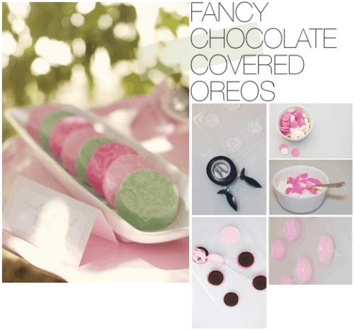 WEDDING DIY: CHOCOLATE COVERED OREOS