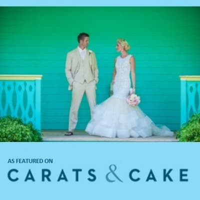 Elegant Cayman Beach Wedding *AS FEATURED ON CARATS & CAKE WEDDING BLOG*