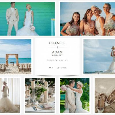 Cayman Islands Destination Wedding For Chanele & Adam: Carats & Cake Feature