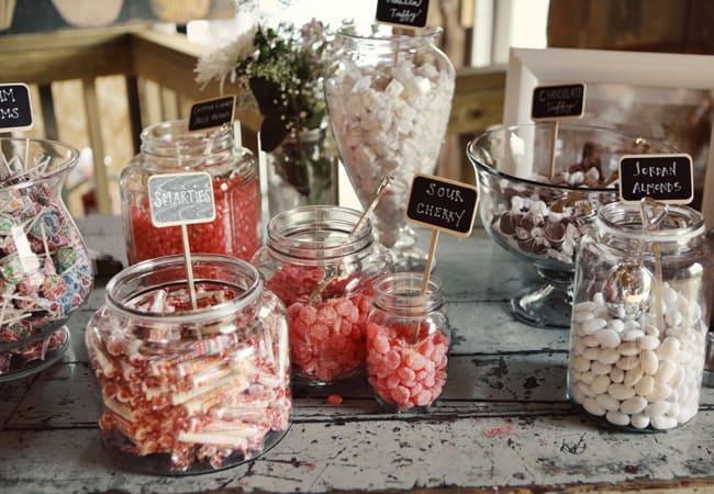 Wedding Candy Bar Ideas