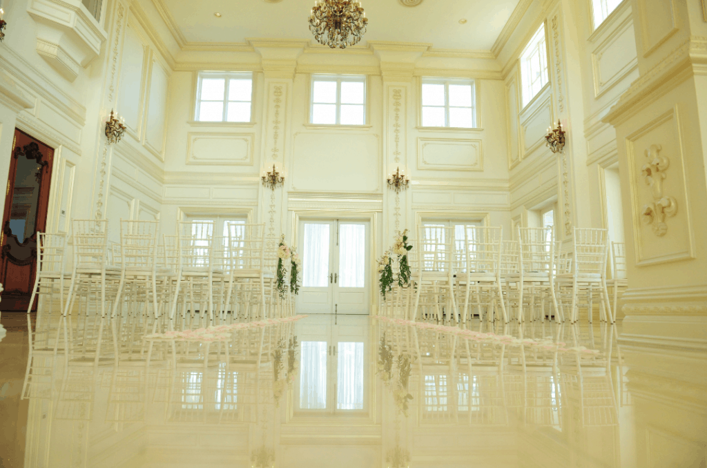 Pretty Mansion Wedding in Cayman Islands