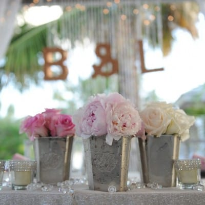 Perfectly Delicate Beach Wedding