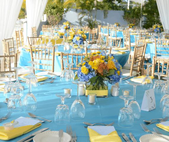 Pastel Island Wedding
