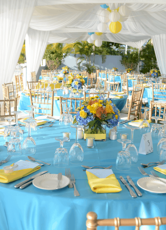 baby blue and yellow wedding theme images galleries with a bite. Black Bedroom Furniture Sets. Home Design Ideas