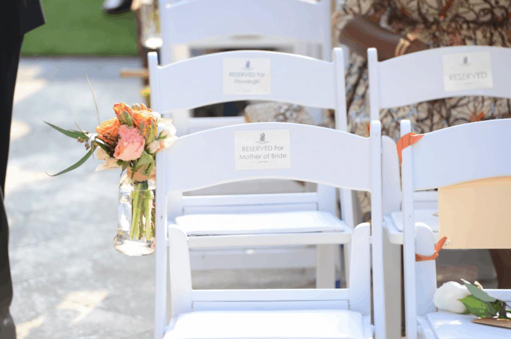 Real Cayman Islands Wedding: Orange Love