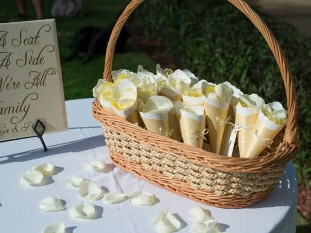 Cream Theme Beach Wedding