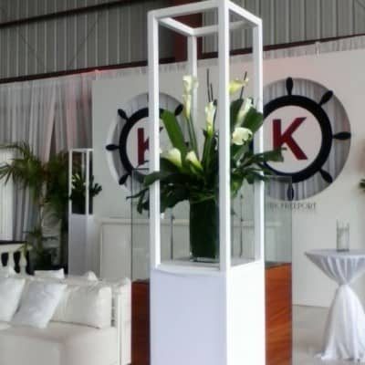 Kirk Freeport Island Air Event Booth By Celebrations Ltd