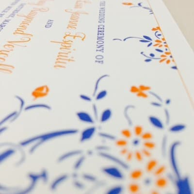 Adorable wedding stationary from this weekend's Cayman Islands wedding