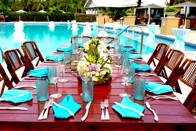 Poolside Ritz Event