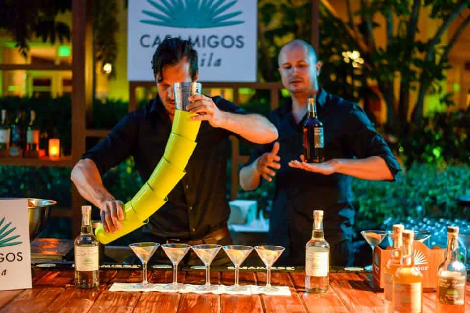 Celebrations Sets Up Poolside Bar for Casamigos Tequila Launch Party @ The Ritz Carlton