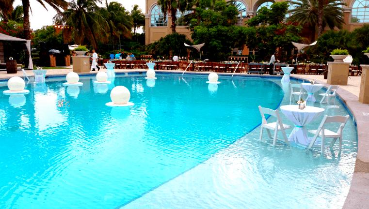 Trendy Poolside Event @ The Ritz