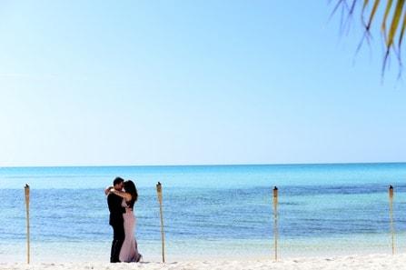 Fun Modern Oceanside Wedding