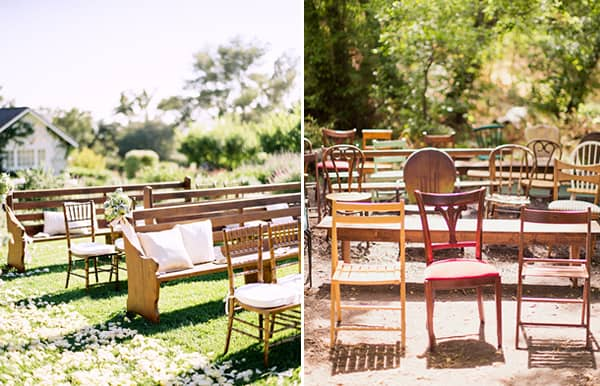 Unique Ceremony Seating Ideas For Outdoor Weddings: 10 UNIQUE WEDDING CEREMONY SEATING IDEAS