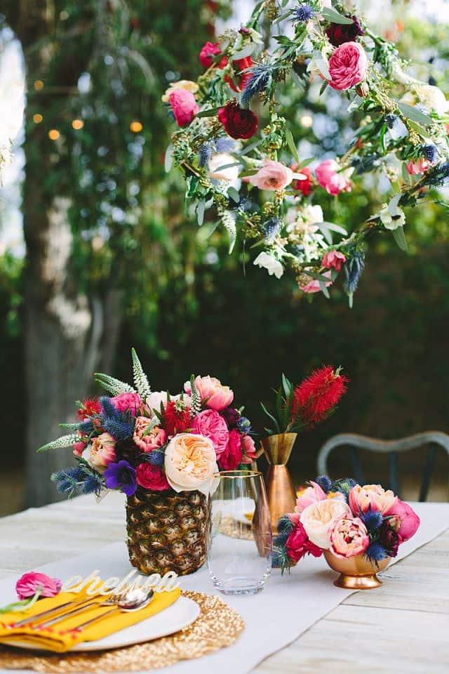 Pineapple Decor: Home & Wedding DIYs