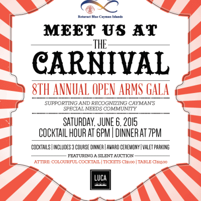 8TH ANNUAL OPEN ARMS GALA – JUNE 6TH!