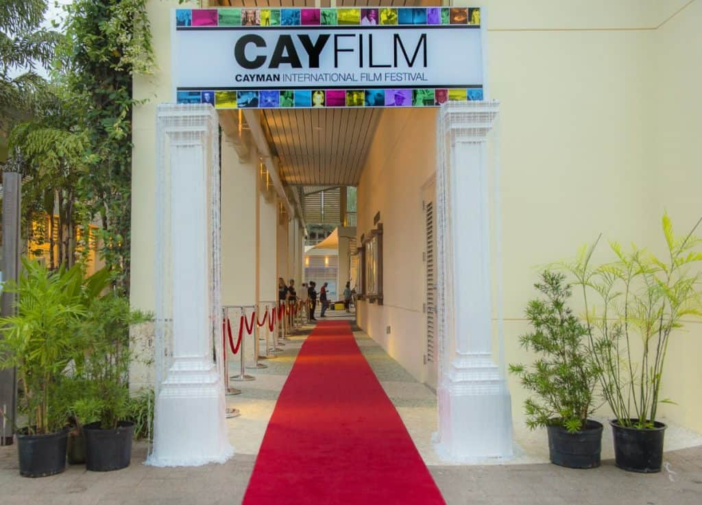 CAYFILM OPENING NIGHT GALA – DESIGNED & PRODUCED BY CELEBRATIONS LTD.