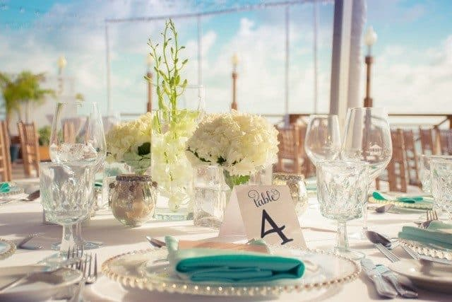 Delicately Pretty Grand Cayman Wedding