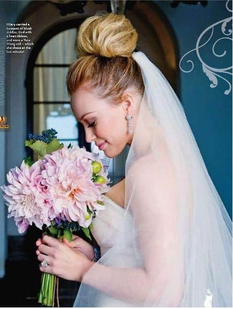 WEDDING INSPIRATION: TAKE A PEEK AT THESE CELEBRITY WEDDING BOUQUETS!