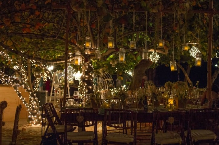 TWINKLING EVENING WEDDING RECEPTION UNDER THE STARS *AS FEATURED BY ...