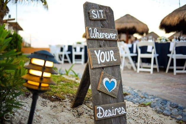 del Sol Photography,cŽlebre Wedding Signs