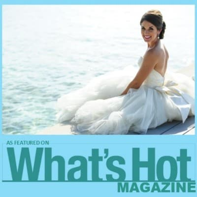 SWEETHEART WEDDING IN THE CAYMAN ISLANDS *AS FEATURED BY WHAT'S HOT MAGAZINE*