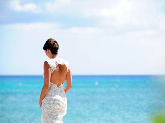 PRETTY BEACH WEDDING & SUNSET RECEPTION