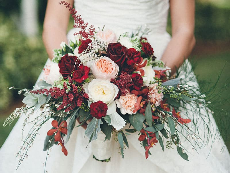 FEATURE ON BRIDES MAGAZINE:  5 THINGS TO KNOW ABOUT FLOWERS AT A DESTINATION WEDDING