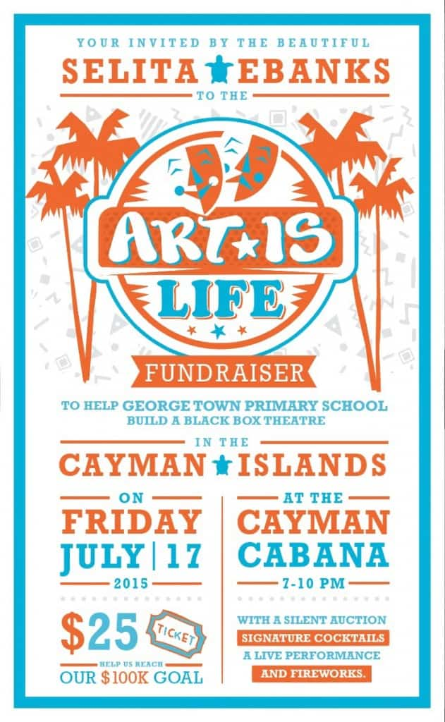"CELEBRATIONS IS A PROUD SUPPORTER OF TONIGHT'S ""ART IS LIFE"" FUNDRAISER"