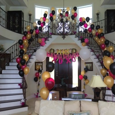 Fun & Flirty Bachelorette Party Entrance