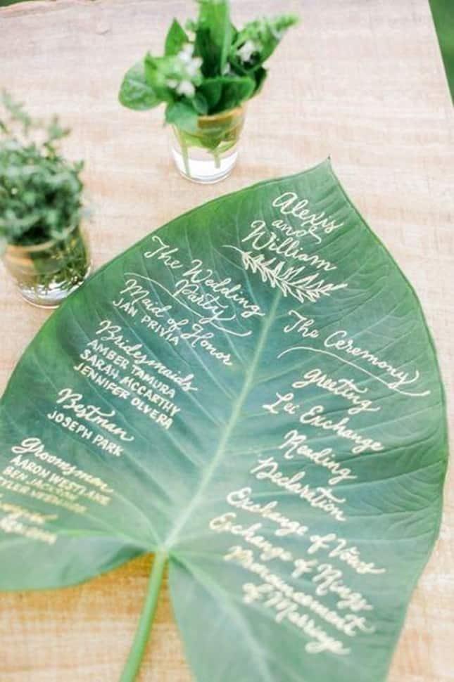 Leaf-Program