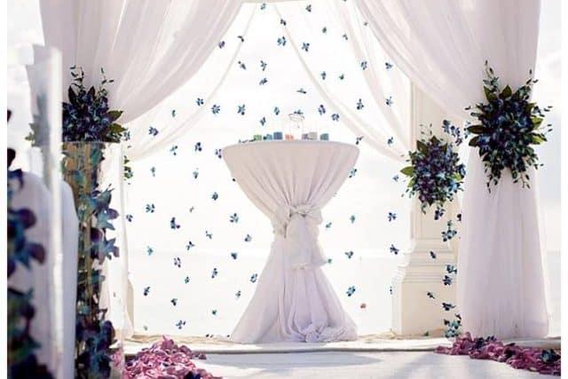 STUNNING WEDDING CHUPPA CANOPY BY CELEBRATIONS