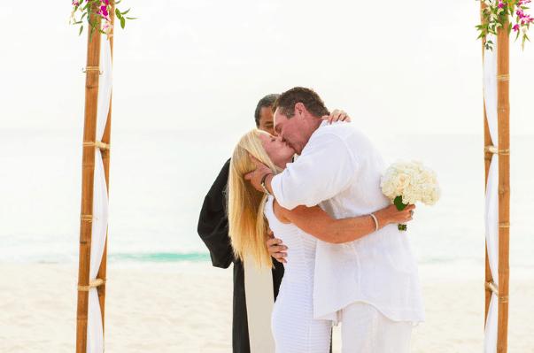 SUSAN & ED SIMPLY BEAUTIFUL 25 YEAR CAYMAN ISLANDS VOW RENEWAL