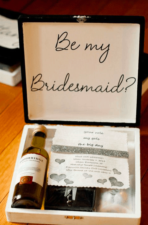 "10 CREATIVE WAYS TO ASK ""WILL YOU BE MY BRIDESMAID?"" - Celebrations ..."