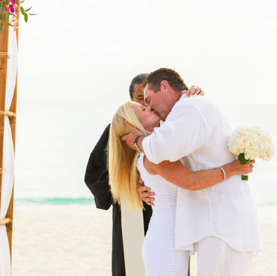 SUSAN & ED SIMPLY BEAUTIFUL 25 YEAR CAYMAN ISLANDS VOW RENEWAL