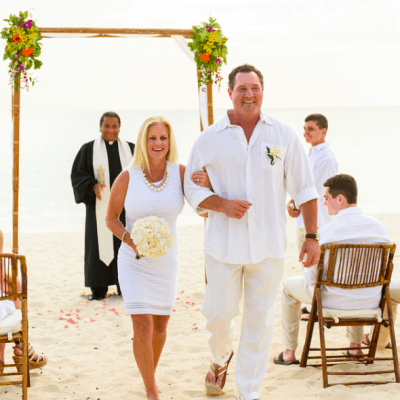 SUSAN & ED'S SIMPLY BEAUTIFUL 25 YEAR CAYMAN ISLANDS VOW RENEWAL