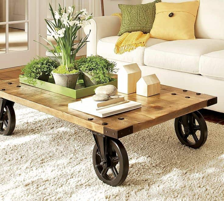 Spring Inspired Coffee Table