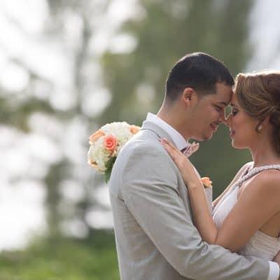 Emily & Donovan's Beautiful East End Wedding
