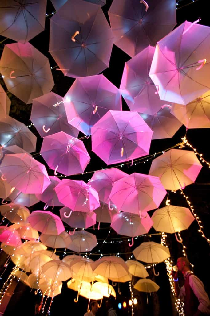 FOR THE LOVE OF PARASOL CEILINGS…