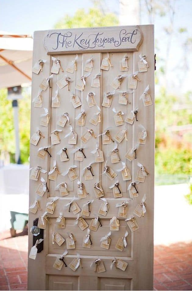 Unique Seating Chart Ideas Bridal Musings Wedding Blog