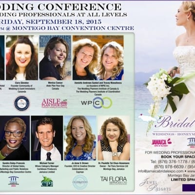CELEBRATIONS CEO & CREATIVE DIRECTOR JOANNE BROWN SPEAKING AT JAMAICA BRIDAL EXPO TOMORROW