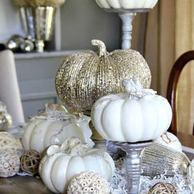 INSPIRING AUTUMN THEMED CENTERPIECES