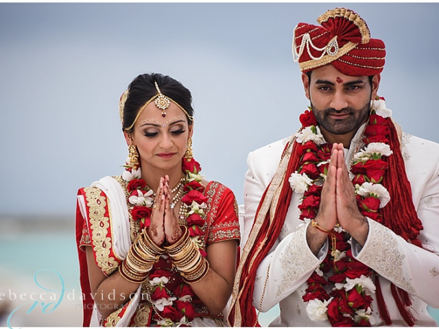 AMEE & MIHIR'S LUXURIOUS INDIAN CARIBBEAN WEDDING